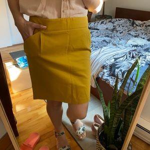Kenar gold yellow skirt